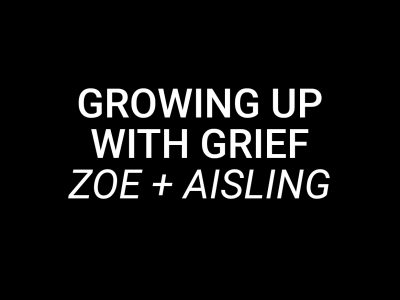 Growing up with Grief header