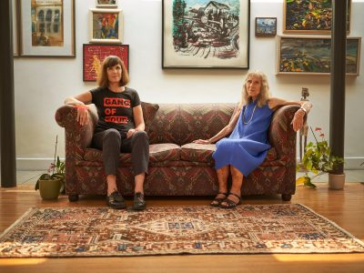 Catherine Mayer and Anne Mayer Bird